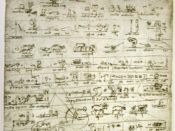 Tra parola, immagine e oralità: Leonardo da Vinci