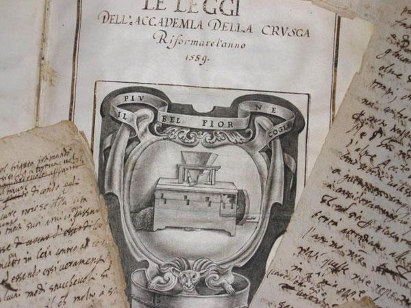 La prima edizione del vocabolario della Crusca