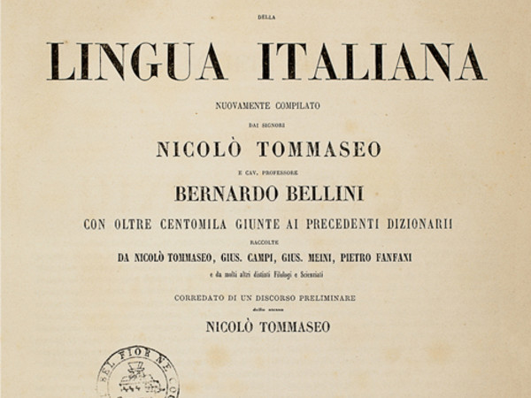 Tommaseo linguista a Firenze