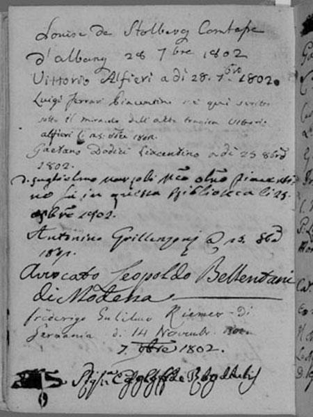 Vittorio Alfieri e la conquista della lingua italiana
